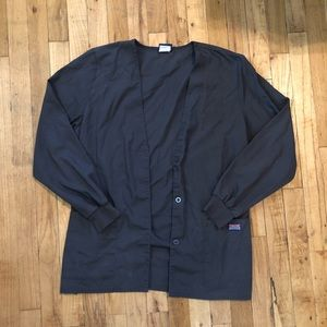 Dark Grey Scrub Jacket